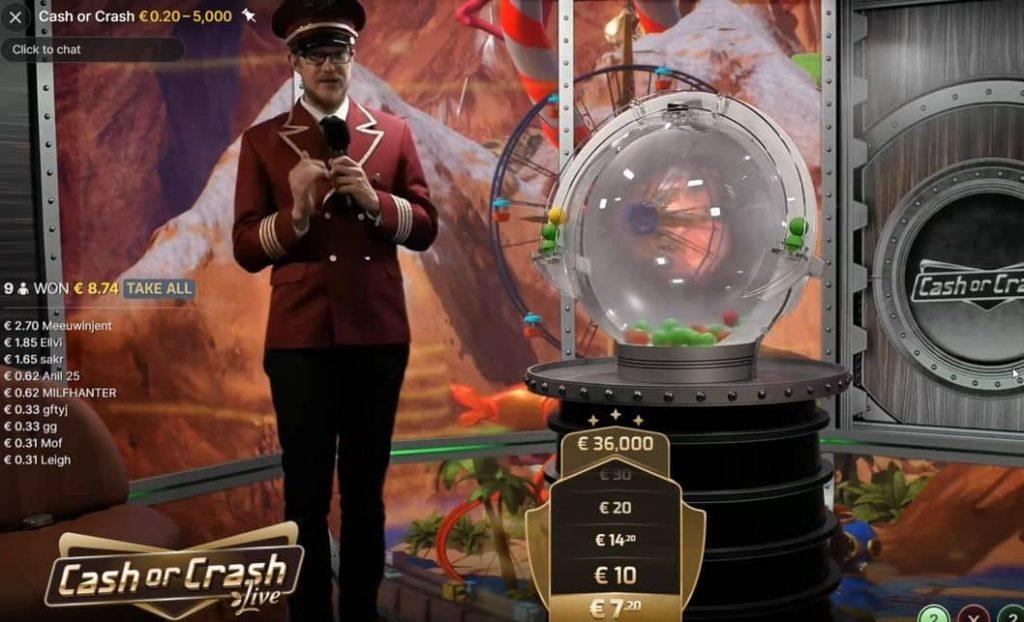 cash or crash game
